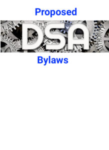 Proposed DSA Bylaws at Seattle Conference