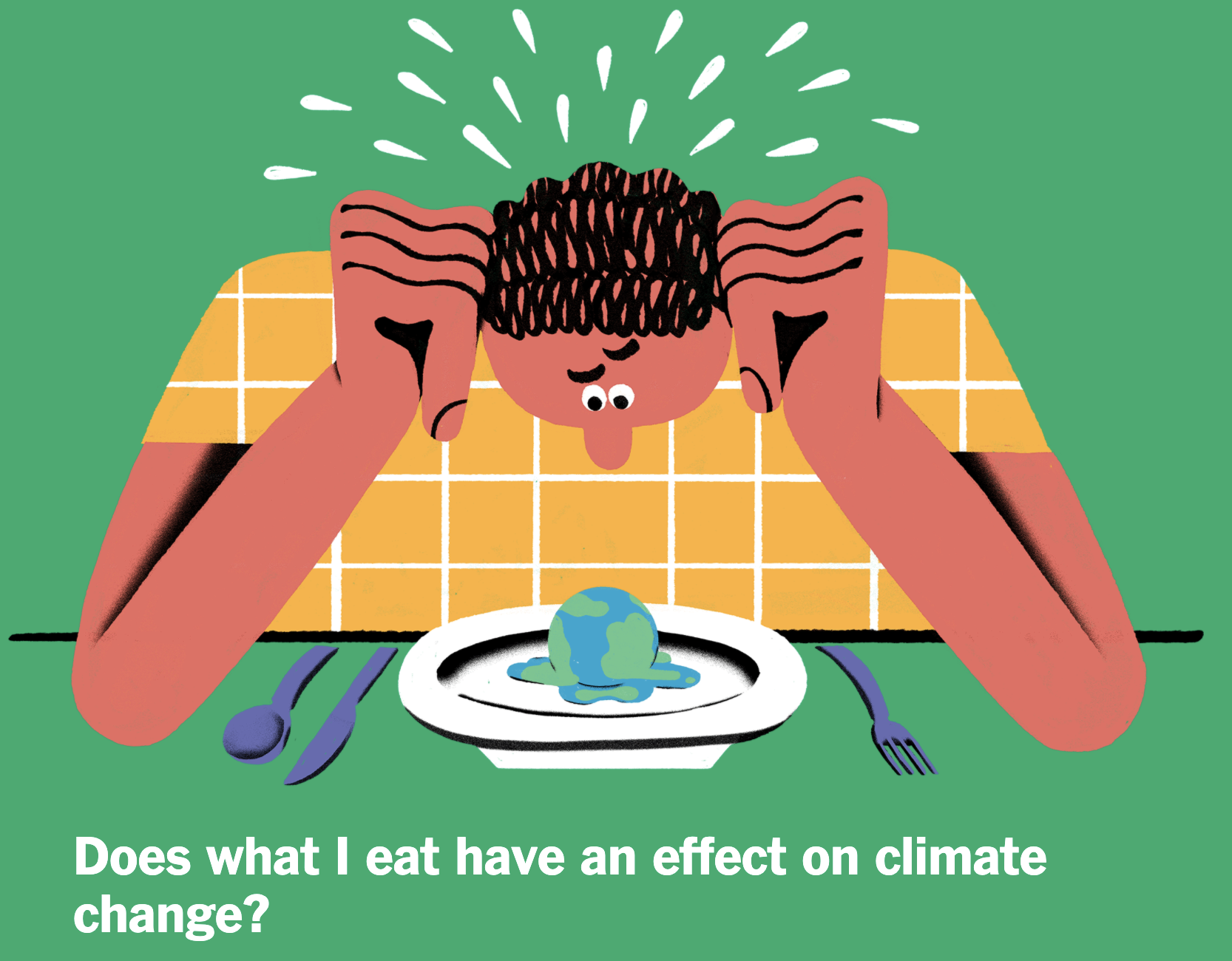 Read more about the article Epicurious Has a Beef With Beef (Cattle has an affect on Global Climate)
